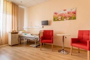 nowoczesne sale dla pacjentów