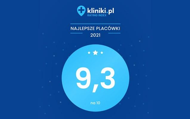 rating idex kliniki